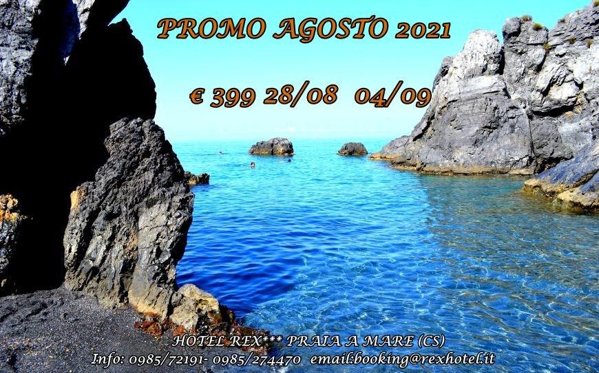 Promo Agosto 2021 Praia a Mare